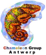 LOGO CHAMELEON CUT + text