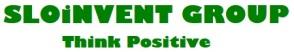 SLOiNVENT LOGO 00 SIGN Think Positive - GillSansUltraBold PNG